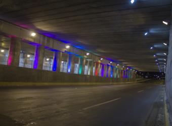 Paso a Desnivel - HB LEDS